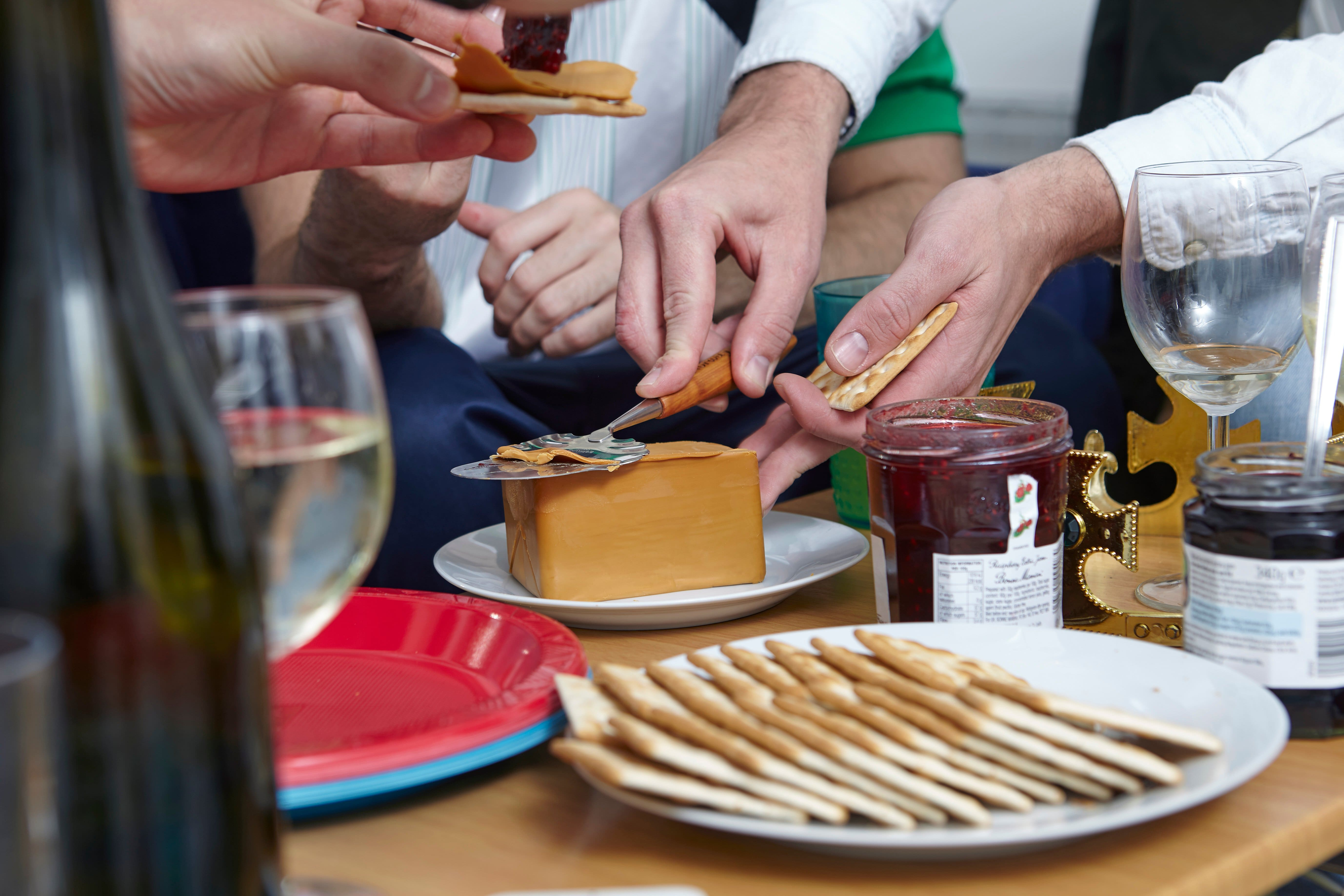 Brunost party at Sigrid Vik